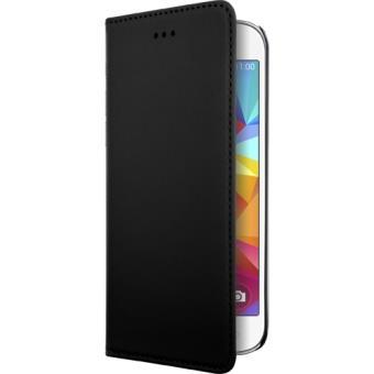 Housse Etui Clapet Portefeuille Samsung Galaxy Core Prime - Bigben Noir
