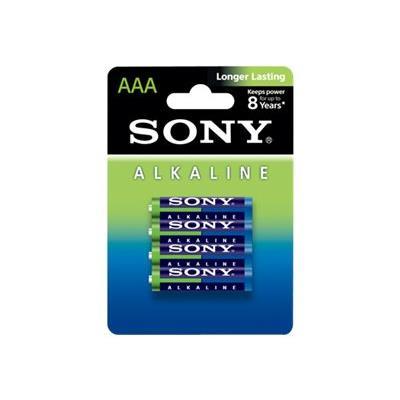 Sony Alkaline BLUE AM4L B4D batterie type AAA Alcaline x 4