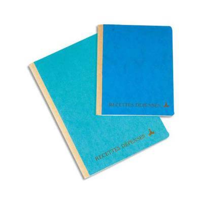 Echéancier recettes et dépenses 17,5x22 cm 160 pages