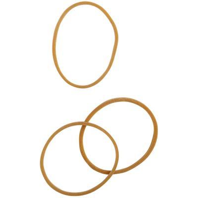 Bracelet caoutchouc blond 40 mm - boite de 100g