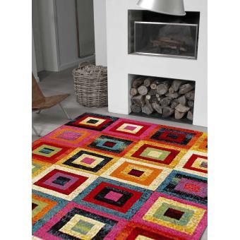 5212 sur tapis salon motif abstrait gioia a tapis moderne par unamourdetapis 80 x 150 cm achat prix fnac - Tapis Moderne