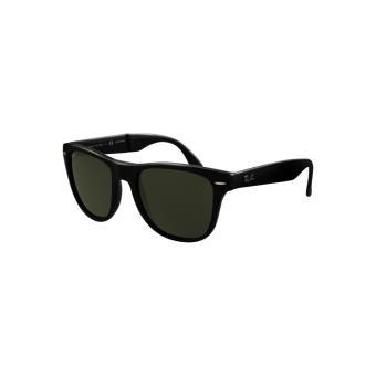 Ray-ban wayfarer pliantes noir brillant vert polarisé - medium-large -  Lunettes - Achat   prix   fnac b56e526353b5