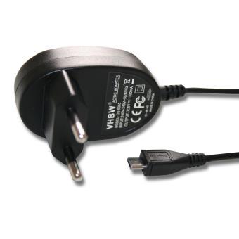 vhbw Chargeur câble de chargement avec connecteur MICRO USB, convient notamment aux modèles MOTOROLA, Vodafone, Bosch GLM80 Laser.