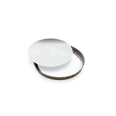 Gobel - Tourtière ronde cannelée - Fond mobile : 28 cm