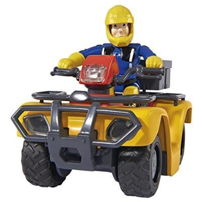 Speelight Goed 9257657 - Pompier Sam Quad Mercury, Modèle Voitures