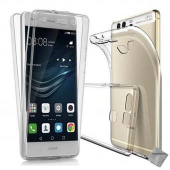 Housse etui coque gel 360 integrale Huawei P9 Lite - TRANSPARENT
