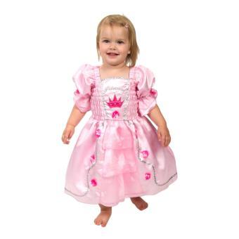 Robe De Princesse A Couronne Robe Pour Enfant Taille 2 Ans Deguisement Enfant Achat Prix Fnac