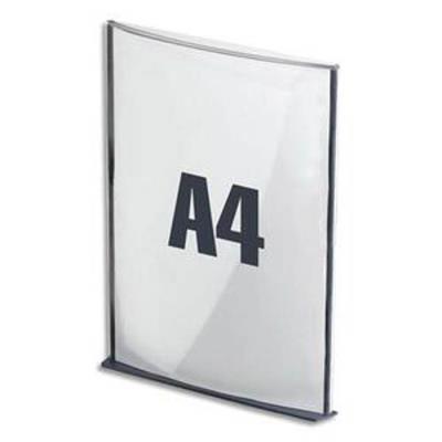 Plaque de porte format A4 coloris anthracite