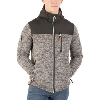 grand choix de f8074 104b8 Superdry Homme Veste Storm Mountain, Gris
