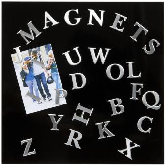 p le m le magn tique alphabet 39 5x39 5 cm 26 aimants p le m le top prix fnac. Black Bedroom Furniture Sets. Home Design Ideas