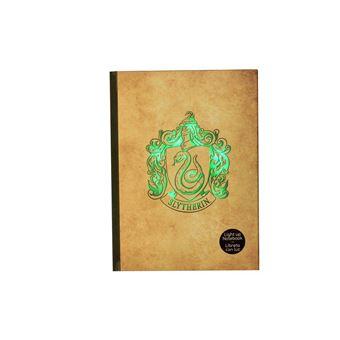 sdtwrn27468 SD toys–Harry Potter Slytherin Cahier avec lumière