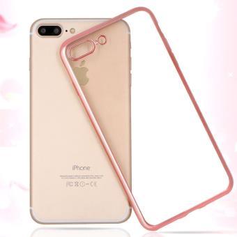 Giscom Coque Iphone 7 Plus 7 Pluss En Tpu Transparent Et Souple