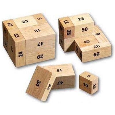 Casse-tête en bois - La centième caisse