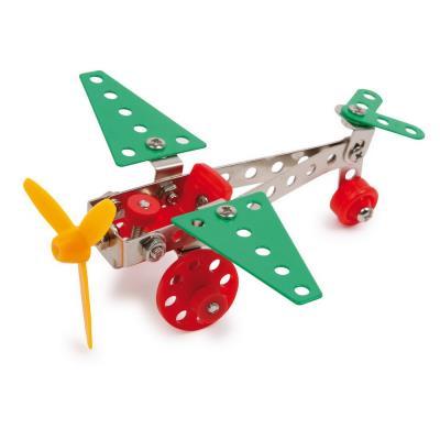 Bloc de construction en métal Avion