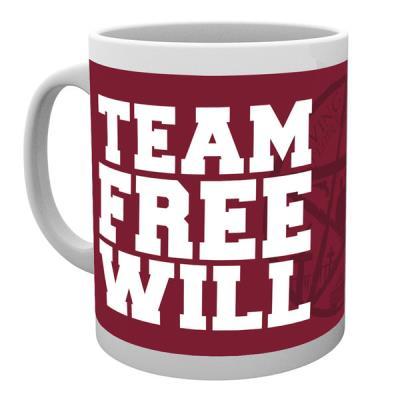 Tasse de ceramique Supernatural Team Free Will