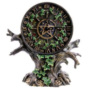 Astrologie Scandinave horloge ou pendule arbre astrologie 22 cm, pendule et horloge, top