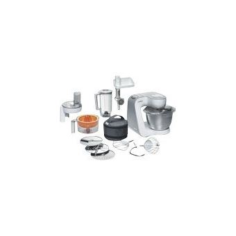 Bosch Styline MUM54240 - keukenmachine - 900 W - zilver/wit