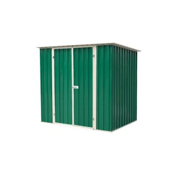 Abri de jardin métallique 2.25 m2, Foresta - Mobilier de Jardin ...