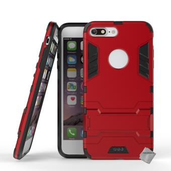 coque iphone 7 plus antichoc rouge