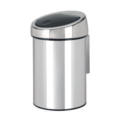 Brabantia 363962 poubelle touch bin seau intérieur plastique 3 l brilliant steel