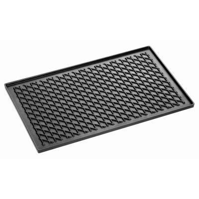 Plaque perforée avec revêteent silicone GN 2/3 perforation 3 mm 4 bords à plis inclinés épaisseur 1,5 mm