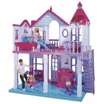 Steffi love maison de barbie grande maison pliable adapt e barbie et steffi accessoire - Maison pliable ...