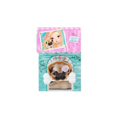 Top Model - Gommes Chien Prince et son Os 30 x 45mm