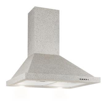 hotte aspirante 60cm dbit dair max 610 m3h trois niveaux de puissance mode vacuation effet pierre classe nergtique a achat prix fnac