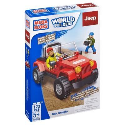 Megabloks - jeep - 97803 - jeu de construction - voiture à construire