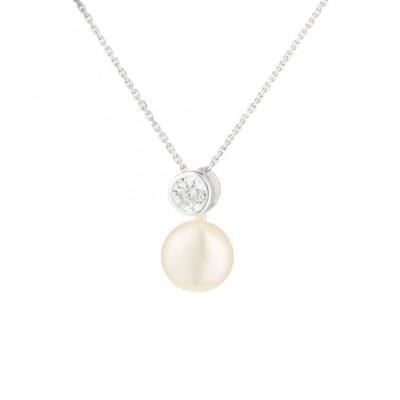 nacre de perle collier femme