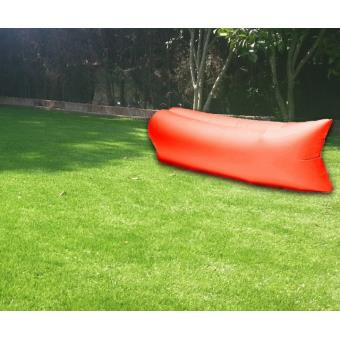 matelas pouf gonflable laysack pour piscine plage ou jardin orange achat prix soldes fnac. Black Bedroom Furniture Sets. Home Design Ideas