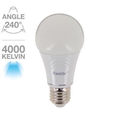 Standard A60 806 lumens E27 Blanc neutre 10W équivalent à 60W