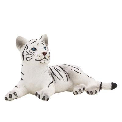 Mgm - 387015 - figurine animal - tigre au blanc couche petit modèle - 7 x 3,5 cm animal planet ft-7015