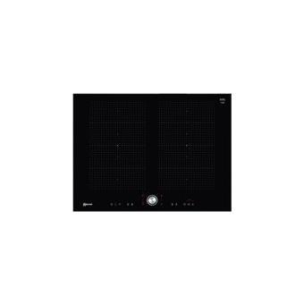 code promo b53d6 8207c Neff T57TT60N0 table de cuisson à induction - 70 cm - noir - vitrocéramique  - avec garnitures en acier inoxydable