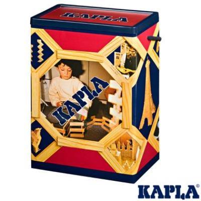 Kapla baril de 200 planchettes Naturel jeu de construction pour Enfant 3 ans +.