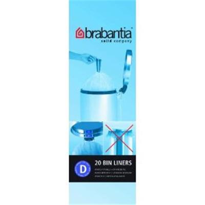 Brabantia - 246760 - Rouleau de Sacs Poubelle - 15 L - 20 Sacs par Rouleau