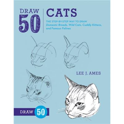 Draw 50 Cats (Paperback)