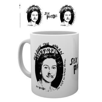 Tasse a cafe Sex Pistols God Save The Queen