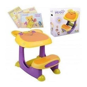 Bureau Table Plastique Hugo Bureau Pupitre Bebe Et Enfant Parlant Et Sonore Bureaux Enfant Et Accessoires Achat Prix Fnac