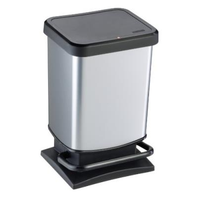 Rotho 7540003 paso poubelle polypropylène métal 29,3 x 26,6 x 45,7 cm