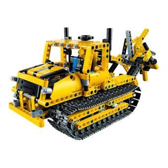 lego technic 42028 bulldozer jeu de construction lego achat prix fnac. Black Bedroom Furniture Sets. Home Design Ideas