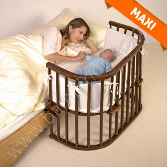 berceau lit cododo babybay maxi satine marron wenge babybay berceaux couffins achat prix fnac - Lit Cododo
