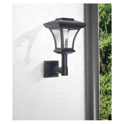 Lampadaire de jardin solaire à LED mural - Luminaires extérieur.