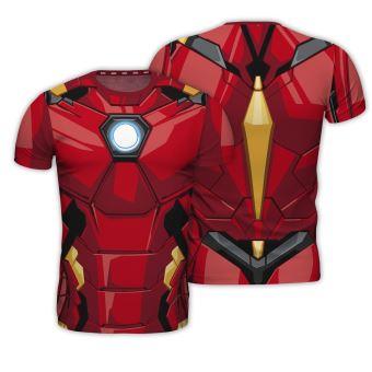 T-Shirt Marvel Iron Man - Tamanho M