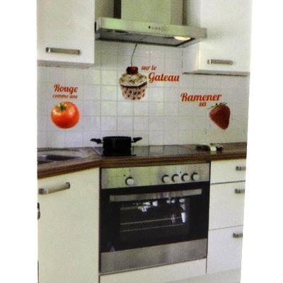Planche de stickers 'Tomate Cerise Fraise' (50x70 cm)