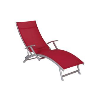 Transat Chaise Longue Avec Accoudoirs