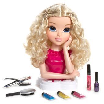 moxie girlz magic hair t te coiffer blonde hauteur. Black Bedroom Furniture Sets. Home Design Ideas