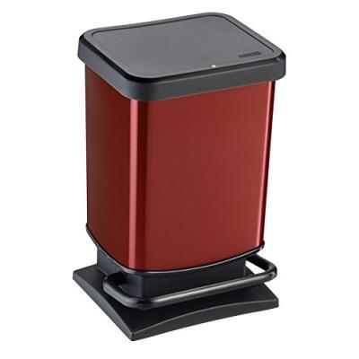 Sundis rotho 7540004 paso poubelle polypropylène rouge 29,3 x 26,6 x 45,7 cm