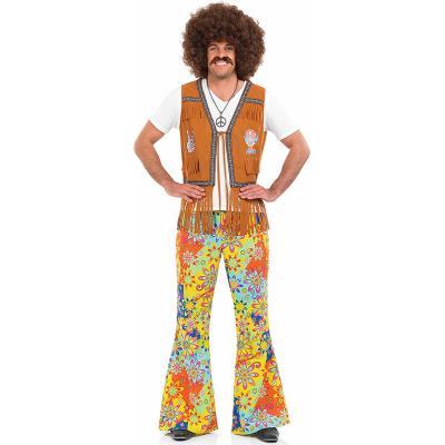 Pantalon floral hippie homme Medium
