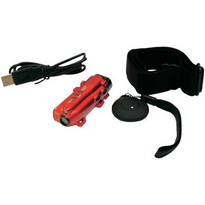 MegaWatch - INOSPCAM01 - Mini Camescope numérique TECHNO CAM - Rouge